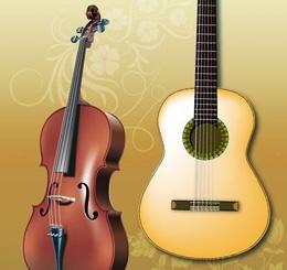 Гитары,скрипки