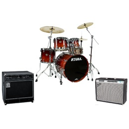 Педали, Комбо, барабаны