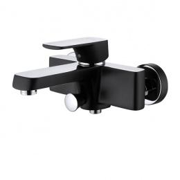 1433215 Смеситель D&K для ванны хром/черный
