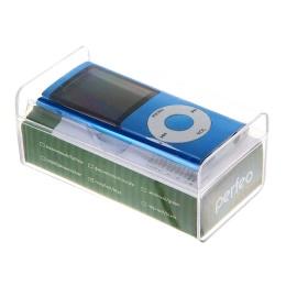 MP3 плеер PERFEO music Clip Titanium Dasplay олубой 1186464