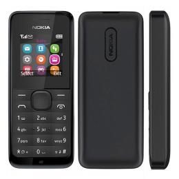 Nokia 105 Dual Black
