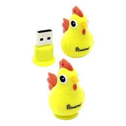USB 16Gb SmartBuy Wild Series Rooster Tree