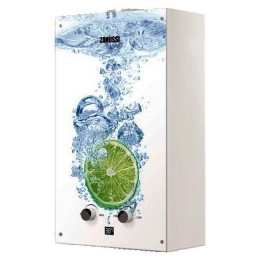 Газ. колонка Zanussi GWH 10 Fonte Glass Lime