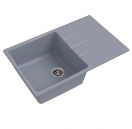Мойка Ewigstein GERD 60F серый металик В780*500