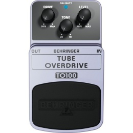 Педаль BEHRINGER TO 100 TUBE OVERDRIV