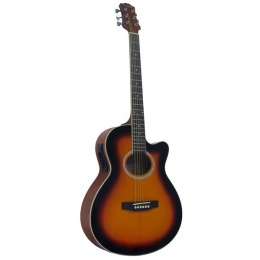 Гитара COLOMBO LF-401CEQ/SB