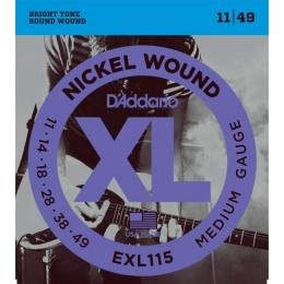 Струны D ADDARIO EXL 115