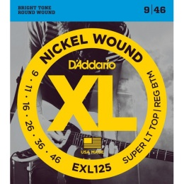 Струны D ADDARIO EXL 125