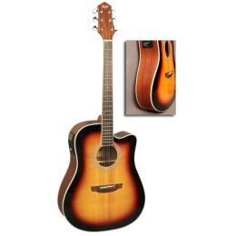 Гитара FLIGHT AD-200 CEQ 3TS