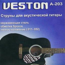 Струны VESTON A-203