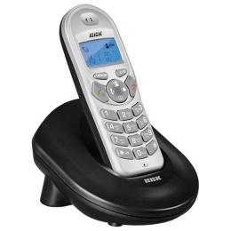 Телефон BBK BKD-810 RU серебро/черный
