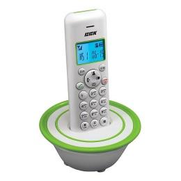 Телефон BBK BKD-815 RU белый/зеленый