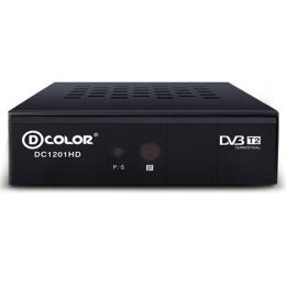 Ресивер DVB-T2 Dcolor DC-1201 Медиаплеер