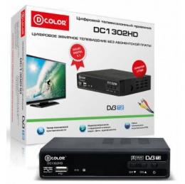 Ресивер DVB-T2 Dcolor DC-1302 ,DC-1010  (1002) Медиаплеер