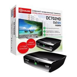 Ресивер DVB-T2 Dcolor DC-702 HD Медиаплеер