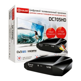 Ресивер DVB-T2 Dcolor DC-705 HD Медиаплеер