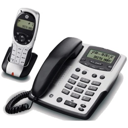 Телефон GE  RS 21880 GE3-B серебро