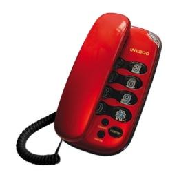 Телефон INTEGO TX-435 коричневый металл