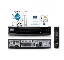 Ресивер NTV-PLUS 1HD, (Sagemcom DSI74), (Opentech OHS-1740) (НТВ+договор)