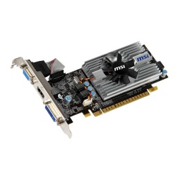 Видеокарта MSI PCI-E NV N430GT MD1GD3/LP2 GF430 1G 64b DDR3 700/1333 DVI+HDMI+CR