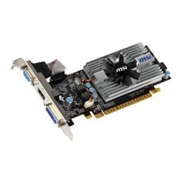 Видеокарта MSI PCI-E NV N430GT MD1GD3/LP2 GF430 1G 64b DDR3 700/1333 DVI+HDMI+CR