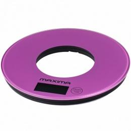 Весы кухонные Maxima MS 067 фиолетовые