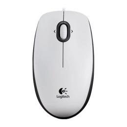 Манипулятор мышь Logitech M100 white opticall USB