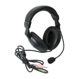 Наушники+микрофон HN-898 Defender - регулятор громкости