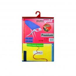 Чехол  для гладильной доски Eurogold premium C34