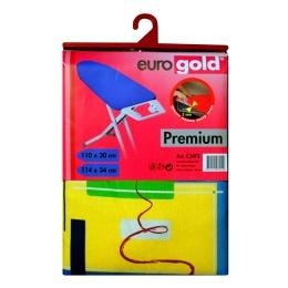 Чехол  для гладильной доски Eurogold premium C34F3M