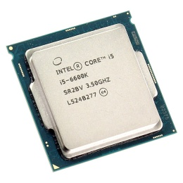 Процессор intel Core i5 6600K BOX