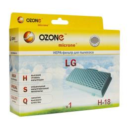 Фильтр д/пылесоса Ozone H18