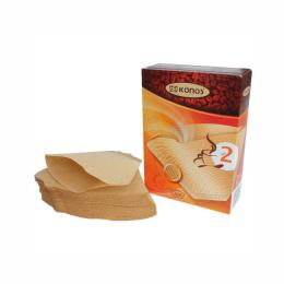 Фильтр для кофеварок Konos N2 100B коричневые в коробке