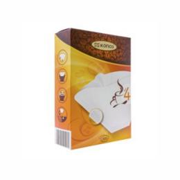 Фильтр для кофеварок Konos N4 100 белые в коробке