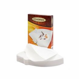 Фильтр для кофеварок Konos N4 40W белые в коробке