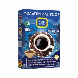 Фильтр для кофеварок TOP HOUSE 390629 1х4 100 шт.
