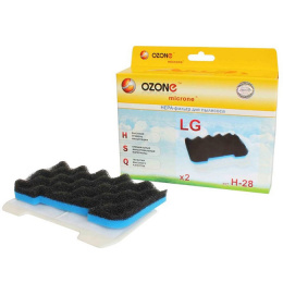 Фильтр д/пылесоса Ozone H28