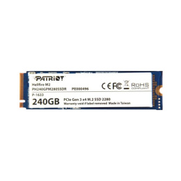 Накопитель SSD PATRIOT PCI-E X2 240GB PS 240 GPM 280