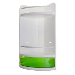 Полка для ванной угл.1015980 зеленая