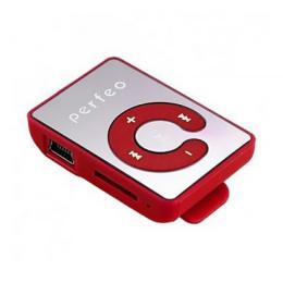 Цифровой  плеер Perfeo (VI-M003) red