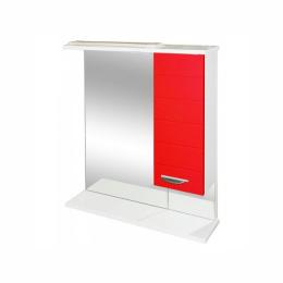 "Зеркало-шкаф ""Таис""60 см ШКАФ слева красн. коннелюр"